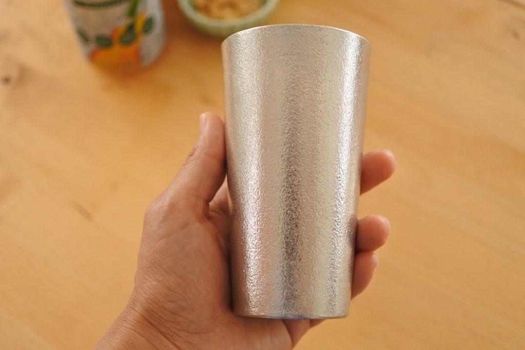 能作ビアカップ大きさ